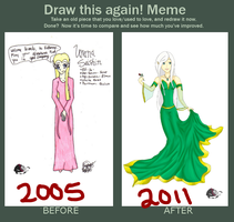 Meme: BEFORE AND AFTER OMG by ChimeraSutar