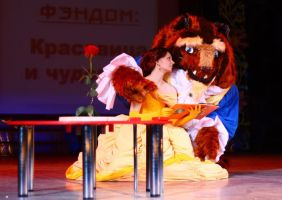 defile  Beauty and the Beast by AGflower