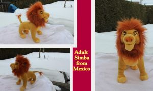 Mexican Adult Simba by Laurel-Lion