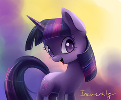 Twilight Sparkle shading test by Incinerater