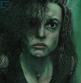 Bellatrix Lestrange by LadyGray01
