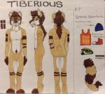 Reference For Tiberious by thefluffycarnivore