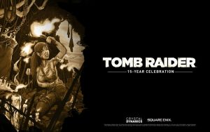 TOMB RAIDER Celebration Wallpaper by illyne