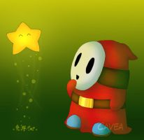 Mario: Shy Guy by Cavea