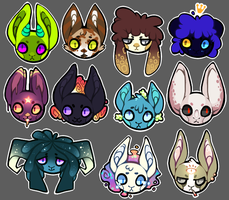 Character Buttons by Isihock
