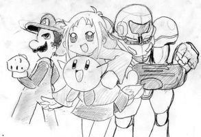 Smash bros Team by EV133