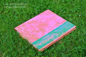 Recycled 2-Ring Binder by Rika-Mystic-Artist