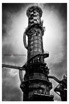 A tower of silence by Grooveinjector