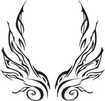 tattoo wings set by NessaTheCoat-rack