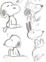 Snoopy Skecthes by Celebi9