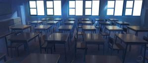 Class Room by Deathdy666