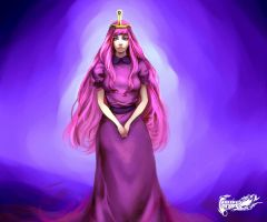 PRINCESS BUBBLEGUM by goodgrace1