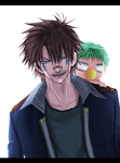 .: oga_and_beel :. by Master-Majidosse