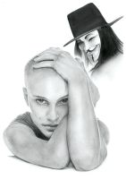 v for vendetta by Vive-Le-Rock