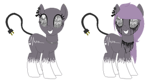 System Error: MLP OC by Bre-Bre-Chan