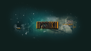 New youtube layout - FPSSAKAI BANNER by fxchannelhouse