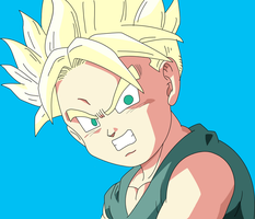 Kid Trunks by Ninja-Master-Tommy