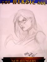 Ms. Marvel consketch by Csyeung
