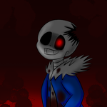 Horrortale-Sans by kurichakira