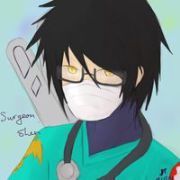 League of Legends: Surgeon Shen by TheMuteMagician