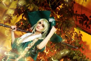 Magi: The Kingdom of Magic - Yunan green magi by GeshaPetrovich