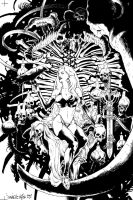 Lady Death's Origins TPB cover by JulienHB