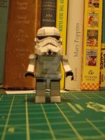 Lego Storm Trooper Papercraft by DraikenTalkos