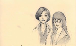 Daria and Jane by Modelbob7