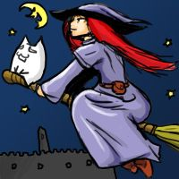 Flight of the witch by rooki1