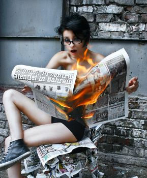 Hot News III by GriPhotography