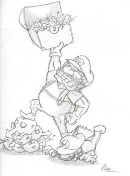Wario is King by ZerotheTiger