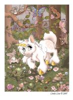 Unicorn Forest :color: by LindaLisa