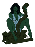 She-Hulk - Preview 3 by RBL-M1A2Tanker
