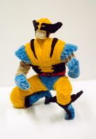 Pipe Cleaner Wolverine by fuzzymutt