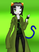 Nepeta Leijon. by The-Unf0rgiv3n