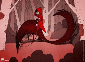 Red riding hood by Gromy
