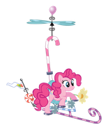 Pinkie Pie's Flying Contraptio by EvilDocterMcBob