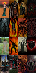 The Daedra Lord Tapestries by RavengerX