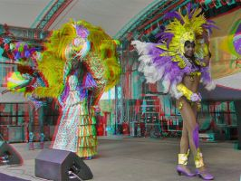 Samba 3D ::: Anaglyph by zour