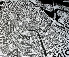 amsterdam print black by dexter121uk