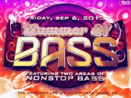 Summer Of Bass by GrahamPhisherDotCom