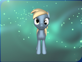 Derpy's cousin (Eye pose preview) by PonyLumen