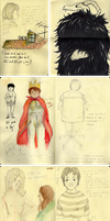 Moleskine | pages 1-9 by maayes