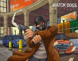 Watch Dogs by Daniel-Jeffries