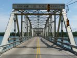 Grosse Ile Toll Bridge by historicbridges