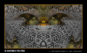 the golden budha of puzzle world by fraterchaos