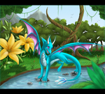 .:Blue River:. by Rorita-Sakura