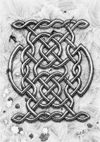 Celtic Knotwork Study by sequentialscott
