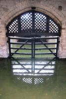 LONDON - Tower of London Traitors Gate by elodie50a