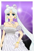 Princess Serenity by Sailor-Serenity